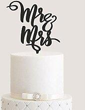 Manschin-Laserdesign Cake Topper, Tortenstecker,