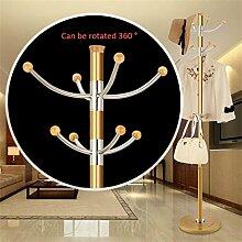 Mantel Racks Hochwertige Edelstahl Landung Einfache Kleidung Kleiderbügel Wohnzimmer Kreative Kleiderbügel (178 * 40cm) ( farbe : #10 )