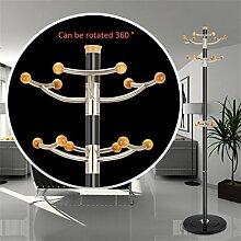 Mantel Racks Hochwertige Edelstahl Landung Einfache Kleidung Kleiderbügel Wohnzimmer Kreative Kleiderbügel (178 * 40cm) ( farbe : #3 )