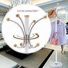 Mantel Racks Hochwertige Edelstahl Landung Einfache Kleidung Kleiderbügel Wohnzimmer Kreative Kleiderbügel (178 * 40cm) ( farbe : #14 )