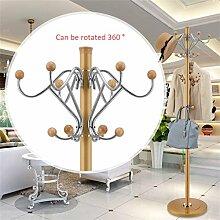Mantel Racks Hochwertige Edelstahl Landung Einfache Kleidung Kleiderbügel Wohnzimmer Kreative Kleiderbügel (178 * 40cm) ( farbe : #16 )