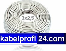Mantelleitung NYM-J 3x2,5mm² -25m Ring- NYMJ