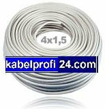 Mantelleitung NYM-J 4x1,5mm² -25m Ring- NYMJ