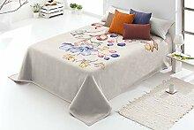 Manterol Decke Maße 220 x 240 cm (Bett 135 cm)