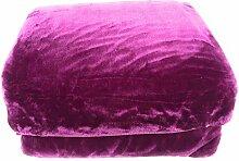 Manterol Decke Mint-Color - Malva, 180 cm (260x240)