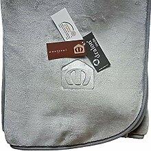 Manterol Decke Polo Color grau, Größe:160x240cm