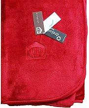 Manterol Decke Polo Color rot, Größe:160x240cm