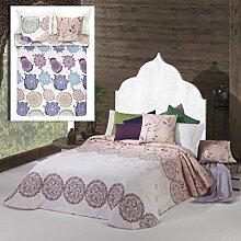 Manterol Tagesdecke Pink Bett 105(200x 270cm