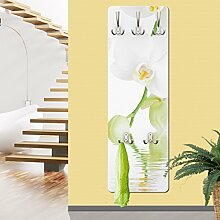 mantiburi Design Garderobe MDF Holz White Orchid Waters