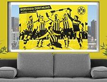 mantiburi FensterBild Borussia Dortmund - Vollgas Blaszczykowski BVB 31x21cm / nicht spiegel-/seitenverkehr
