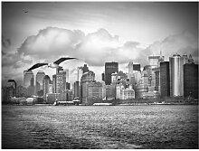 mantiburi FensterBild No.YK1 New York II Manhattan 96x72cm / nicht spiegel-/seitenverkehr