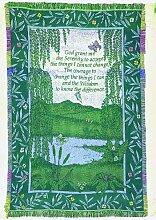 Manuelle holzverarbeiter und Weavers Inspirierende Sammlung 2,5-Lagen Fransen Werfen, 46von 152,4cm