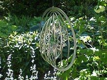 Manufaktur-Lichtbogen Edelstahl Windspiel Kreis