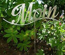 Manufaktur-Lichtbogen Gartenstecker Moin -