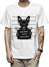 ManY lustige T-Shirts Männer Druck T-Shirt Bad