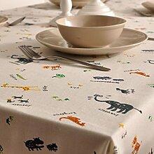 Maoge Einfache Moderne Familie tischtuch