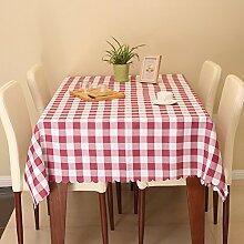 Maoge Einfache Moderne Familie tischtuch Raster