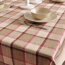 Maoge Home tischdecke Retro Home tischtuch.Dicker
