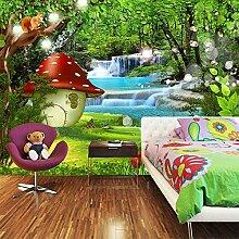 MAOYYM1 3D Fototapete Für Kinderzimmer Cartoon