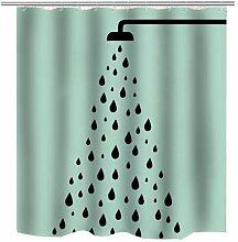 MAOYYM2 Baden Duschvorhang Nehmen Sie Eine Dusche