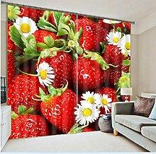MAOYYM2 Gardinen Vorhänge Küchenvorhänge Luxus