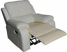 Mapo Möbel Voll-Leder Couch Fernseh-Sofa
