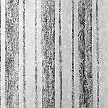 mara Stripe Tapete silber Muriva 701541