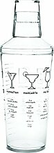 Maraca 16 Ounce Recipe Cocktail Shaker by True by