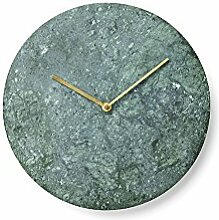 Marble Wall Clock, Green