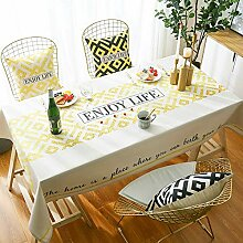 marca blanca Generisch Tischdecke Tischfolie