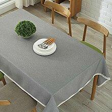marca blanca Tischdecke Leinenoptik Tischtuch