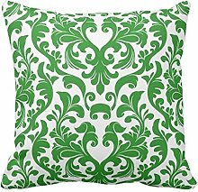 MARCOMAX Cushion Cover Damask Decorative Cushion Cover
