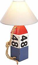 mare-me Bojenlampe 48 blau rot weiß