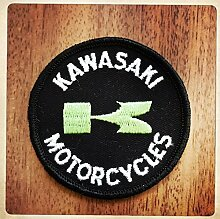 MAREL Patch Kawasaki Motocycle Vintage Aufnäher