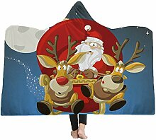 Margot-Charismatic-Blanket Santa Claus Elch