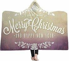 Margot-Charismatic-Blanket Santa Claus Elch