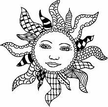 Marianne Design Doodle Sun
