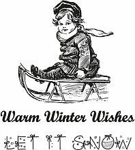 Marianne Design - Stempel - Warm winter wishes (CS0905)