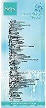 Marianne Design TC0844 Transparente Stempel Tiny's Eiszapfen, Silikon, 7.5 x 18.5 x 0.5 cm