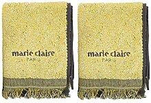 Marie Claire Badtextilien Sets, 100% Baumwolle,