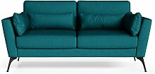 Marie Claire Home | 2-Sitzer-Sofa Susan blau