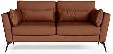 Marie Claire Home | 2-Sitzer-Sofa Susan orange