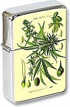Marihuana Cannabis Pflanze Klapp Anzünder