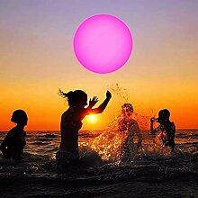 MARIJEE 13 Farben leuchtender Ball, aufblasbarer