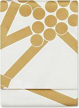 Marimekko - Hortensie Tischdecke 160 x 280 cm, gold (Winter 2017)