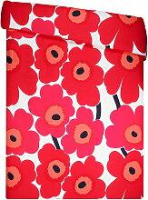 Marimekko - Unikko Deckenbezug, 150 x 210 cm, rot