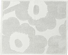 Marimekko - Unikko Solid Badematte, grau