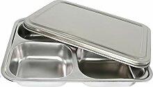 Marinax Edelstahl Lunchbox rechteckig