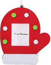 MarinoBIRD Schöne Vlies Weihnachten Photo Frame
