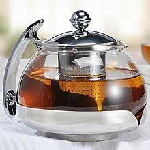 marion10020 Teekanne Tee-Kanne Tea Pot, Glas,